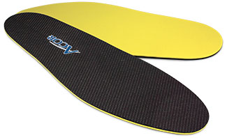 Acor XSXRD Cushioned insoles, with XRD Extreme Impact Protection